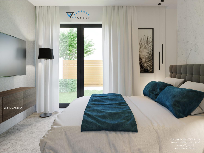 Immagine Villa V38 (progetto originale) - interno 13 - camera matrimoniale