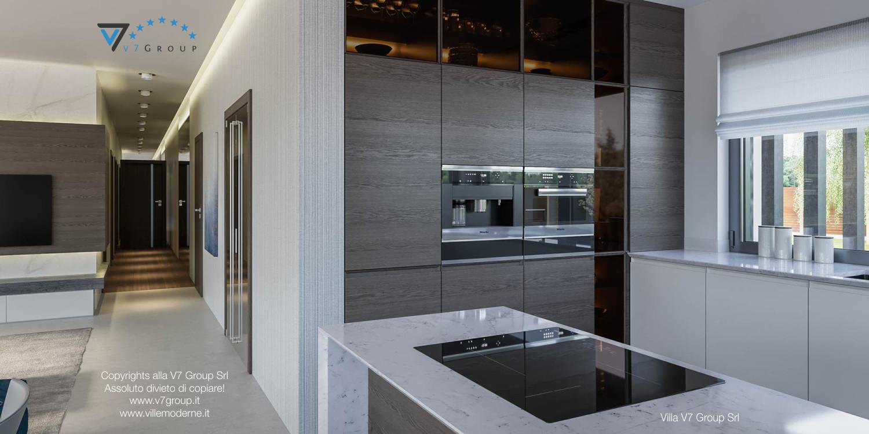 Immagine Villa V38 (progetto originale) - interno 9 - corridoio