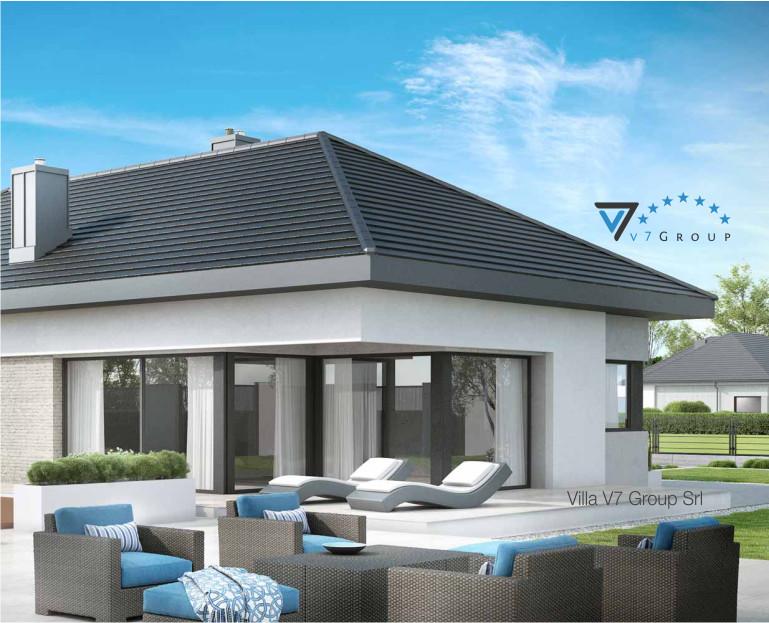 Immagine Villa V38 (progetto originale) - vista terrazzo esterno piccola