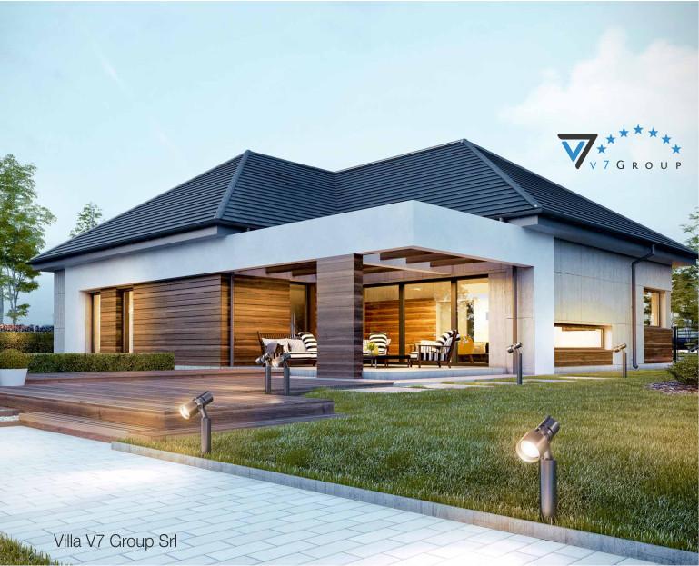 Immagine Villa V39 (progetto originale) - vista terrazzo esterno piccola