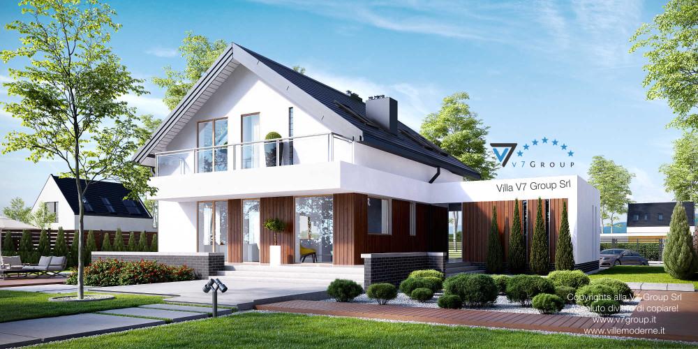 Immagine Villa V4 (progetto originale) - la presentazione di Villa V3