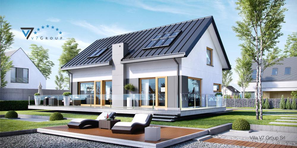 Immagine Villa V5 (progetto originale) - presentazione di Villa V4