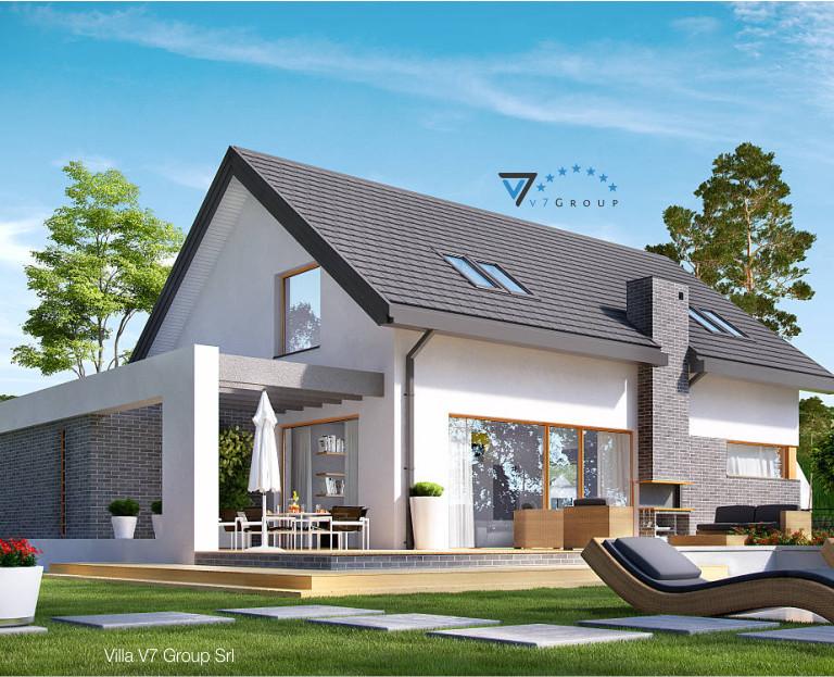 Immagine Villa V5 - il dettaglio del terrazzo esterno