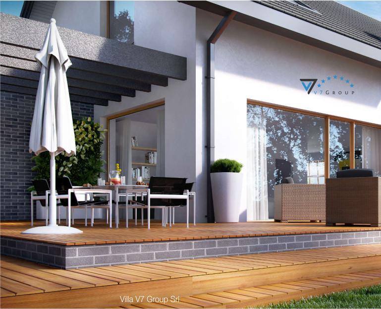 Immagine Villa V5 - il design del terrazzo esterno grande