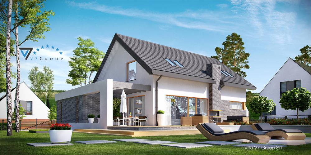 Immagine Villa V6 (progetto originale) - la presentazione di Villa V5