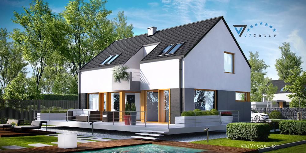 Immagine Villa V7 (progetto originale) - la presentazione di Villa V6