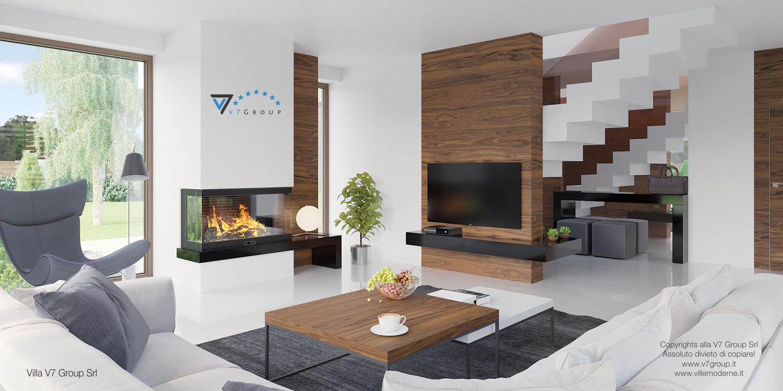 Immagine Villa V7 - interno 2 - soggiorno
