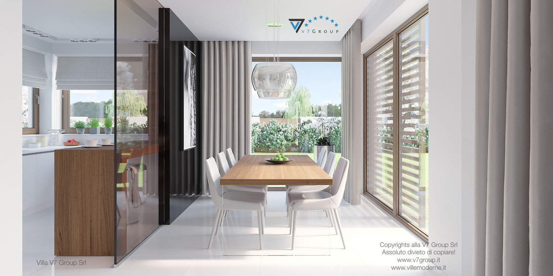 Immagine Villa V7 - interno 6 - sala da pranzo