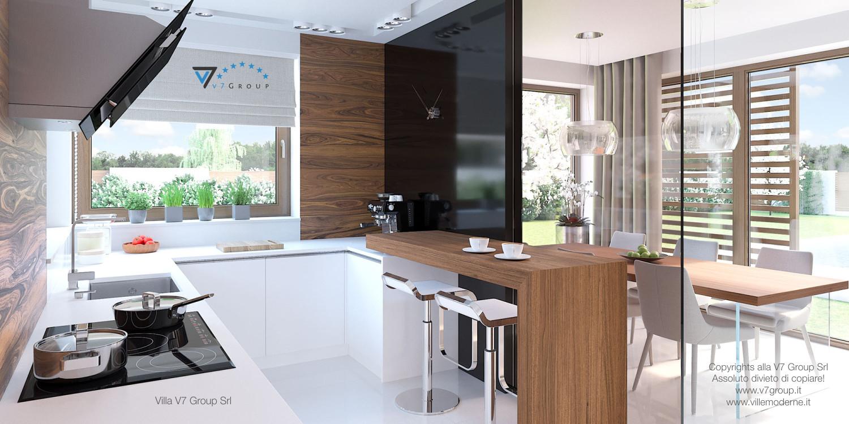 Immagine Villa V7 - interno 8 - cucina e sala da pranzo