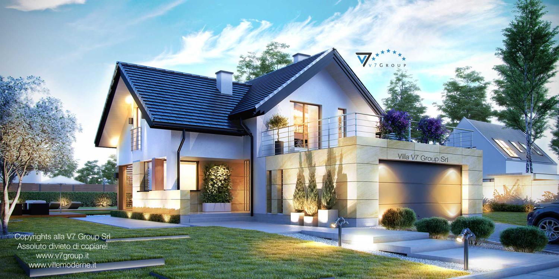 Immagine Villa V7 - vista frontale grande