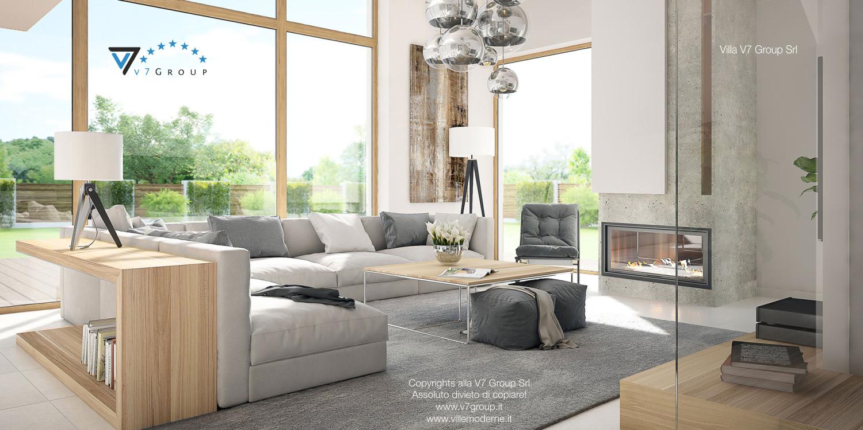 Immagine Villa V8 - interno 1 - soggiorno