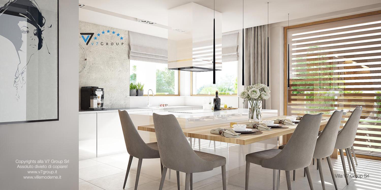 Immagine Villa V8 - interno 4 - sala da pranzo