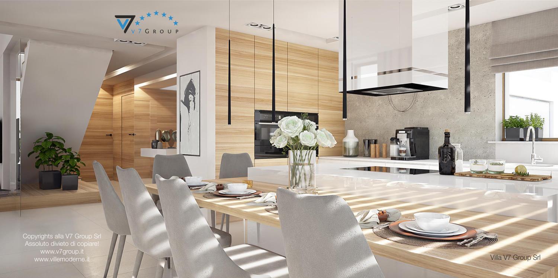 Immagine Villa V8 - interno 5 - sala da pranzo e corridoio