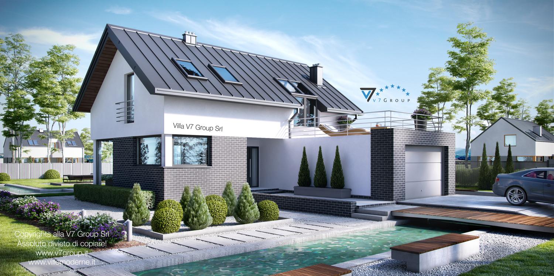 Immagine Villa V8 - vista frontale grande