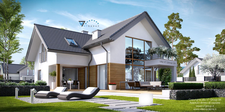 Immagine Villa V8 - vista giardino grande