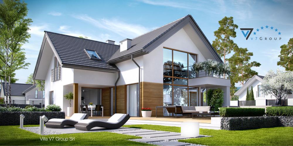 Immagine Villa V9 (progetto originale) - la presentazione di Villa V8
