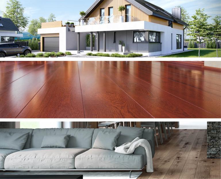 Immagine Nostra offerta verticale - interni, casa, pavimento