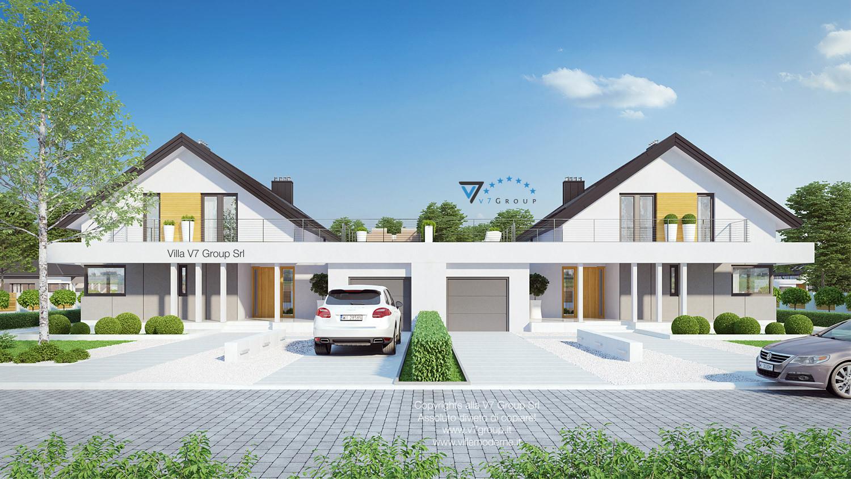 Immagine Villa V2 (B) - vista frontale
