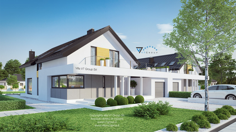 Immagine Villa V2 (B) - vista laterale