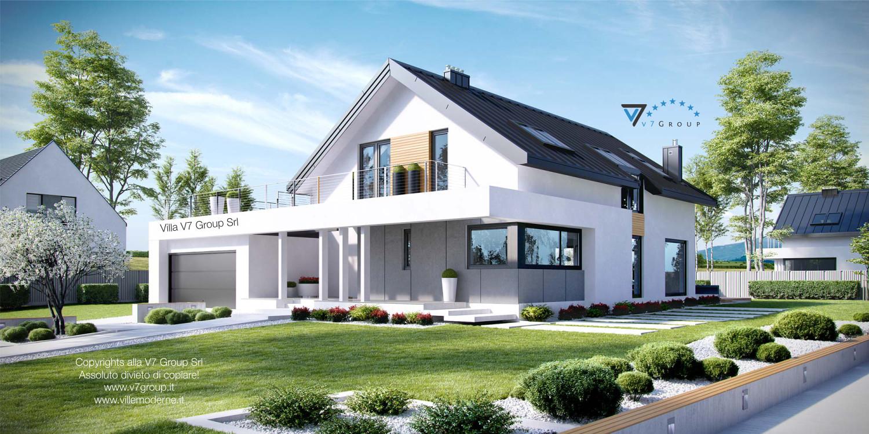 Villa V2 (G2) ENERGO - vista frontale grande