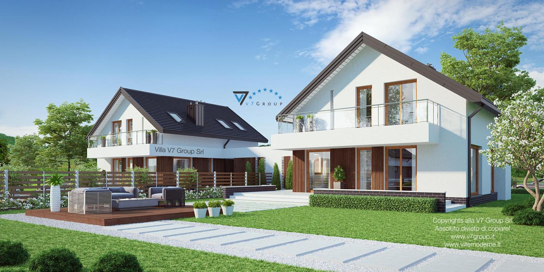 Immagine Villa V3 (B) - terrazzo esterno grande