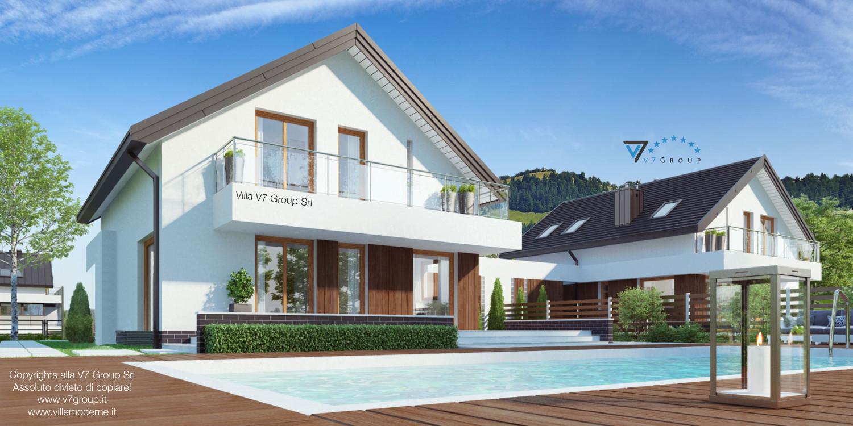 Immagine Villa V3 - vista giardino