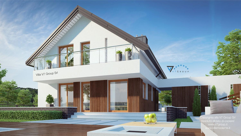Immagine Villa V3 (B) - giardino della casa e il terrazzo esterno
