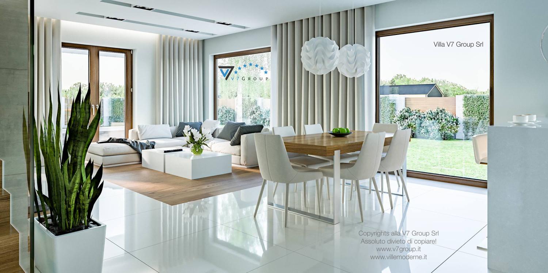 Immagine Villa V3 (progetto originale) - interno 2 - sala da pranzo