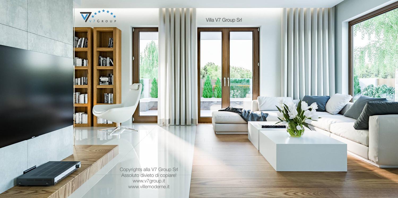 Immagine Villa V3 (progetto originale) - interno 5 - soggiorno
