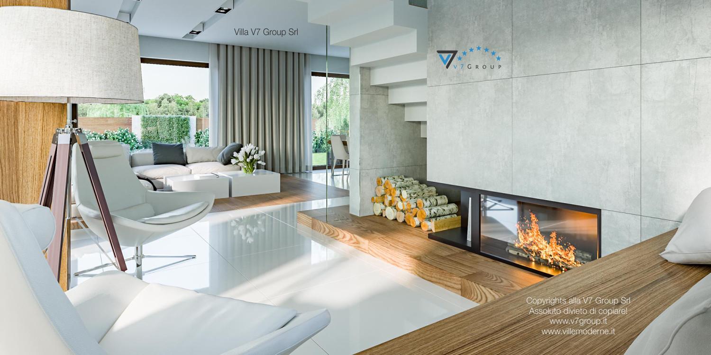 Immagine Villa V3 (progetto originale) - interno 6 - camino