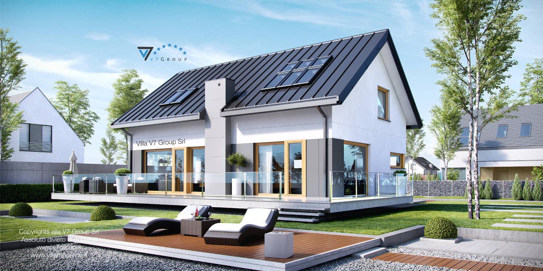 Immagine Villa V4 - giardino e terrazzo esterno