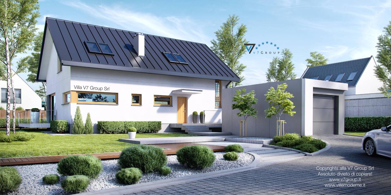 Immagine Villa V4 - parte frontale della casa