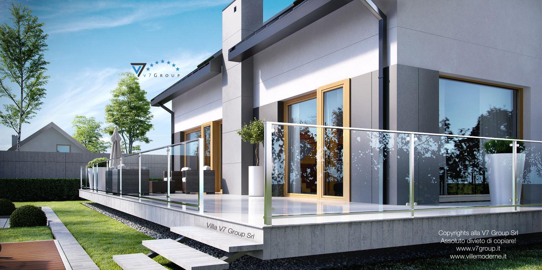 Immagine Villa V4 - terrazzo esterno dettagliato
