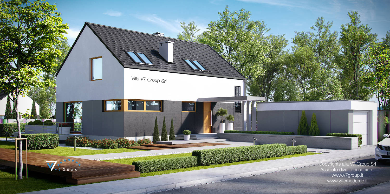 Immagine Villa V6 (progetto originale) - l'entrata della casa