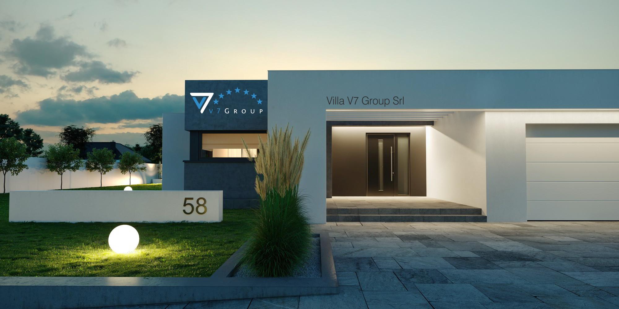 V7 group srl realizzazione e progettazione di ville in for Ville stile moderno