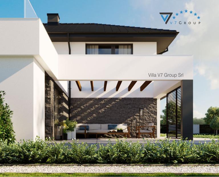 Immagine E-Book di V7 Group Srl - il terrazzo esterno ingrandito di Villa V59