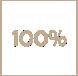 Costruisci con noi - l'icona di 100% di colore marrone