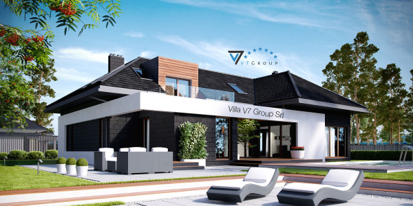 Immagine Nostre Ville - la parte del giardino di Villa V13 ENERGO