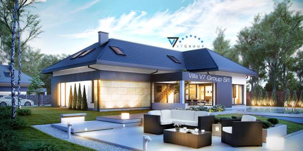 Immagine Nostre Ville - la parte del giardino di Villa V14