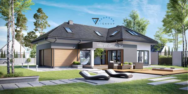 Immagine Nostre Ville - la parte del giardino di Villa V15