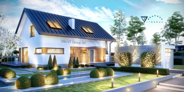 Immagine Nostre Ville - la parte frontale di Villa V16