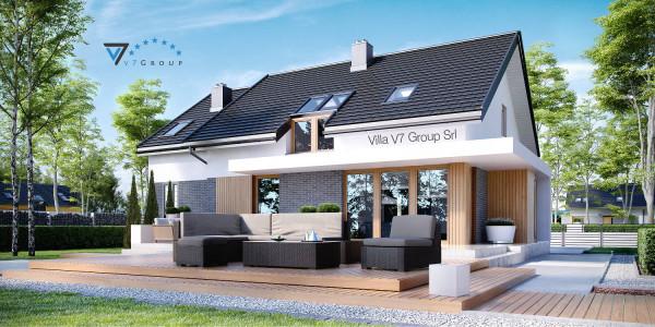 Immagine Nostre Ville - la parte del terrazzo esterno di Villa V21
