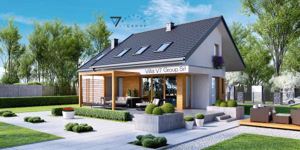 Immagine Nostre Ville - la parte del terrazzo esterno di Villa V23
