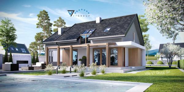 Immagine Nostre Ville - la parte del terrazzo esterno di Villa V24