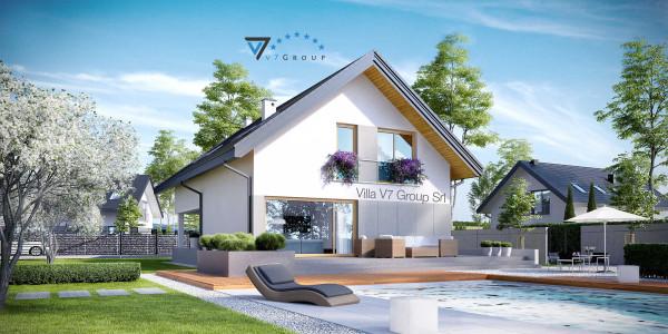 Immagine Nostre Ville - la parte della piscina di Villa V25