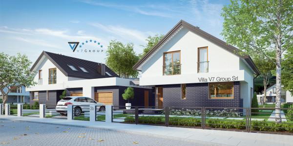 Immagine Villa V3 (B) - parte frontale della casa in miniatura