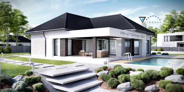 Immagine Nostre Ville - la parte del terrazzo esterno di Villa V32