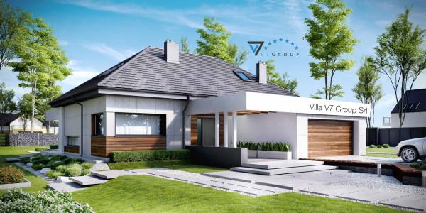 Immagine Nostre Ville - la parte frontale di Villa V33