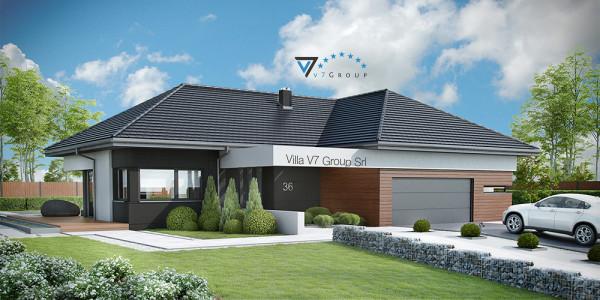 Immagine Nostre Ville - la parte frontale di Villa V36