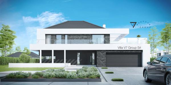 Immagine Nostre Ville - la parte frontale di Villa V37